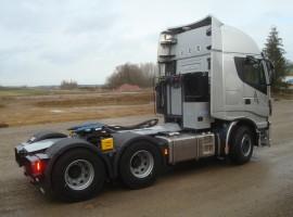 Hydraulik aufbau fur Iveco 6x4