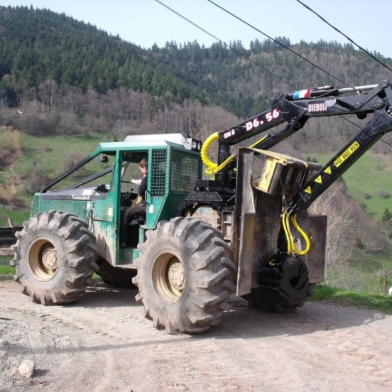 Skidder and Forwarder cranes