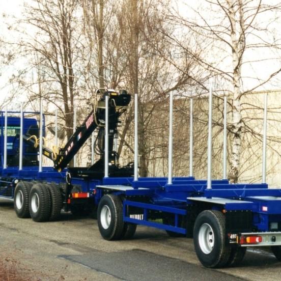 2 axles trailer