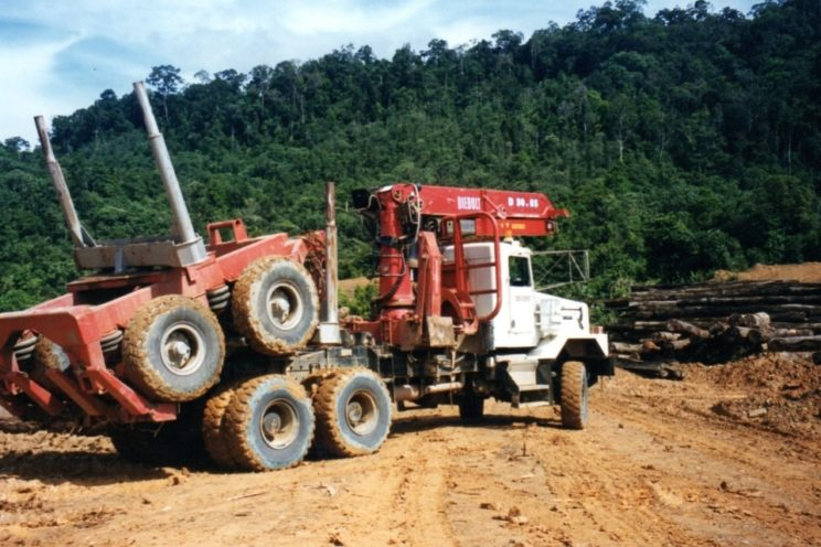 Forestry equipment – outside EU