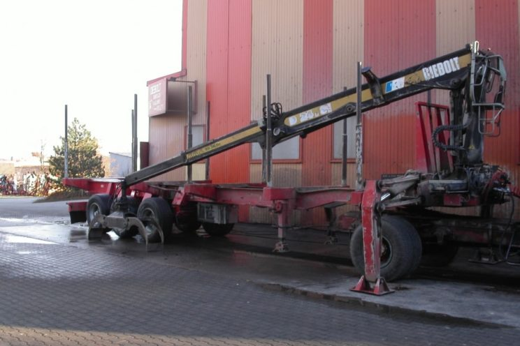3 axles Diebolt semi-trailer