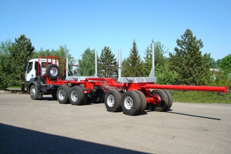 2 axles forestry dolly – outside EU