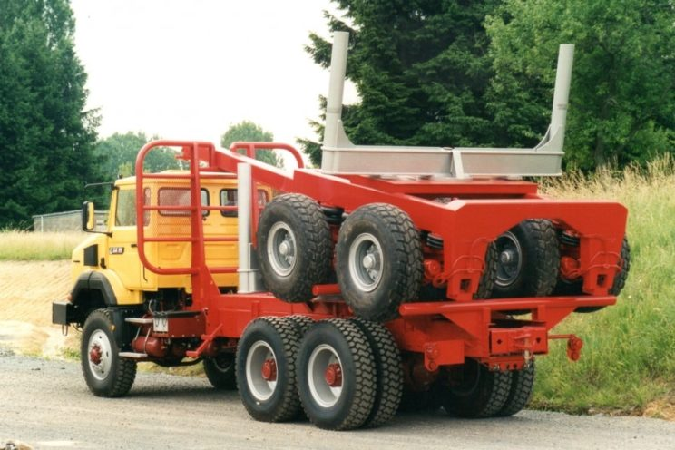 4 axles forestry dolly – outside EU