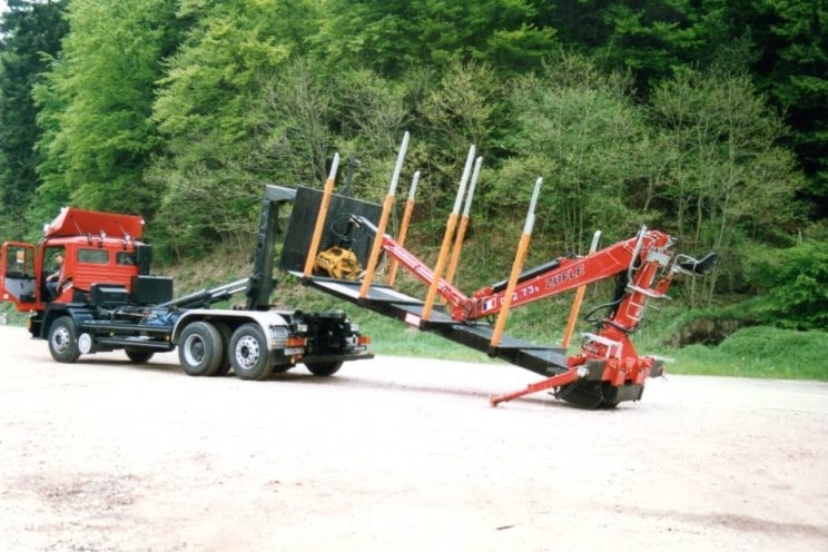 Forestry equipment for short woods