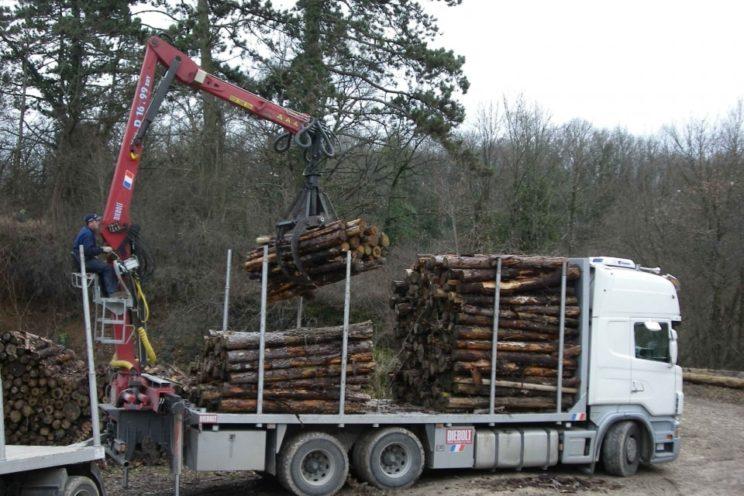 Kurzholzkran 16 Tm zusammenlegbar