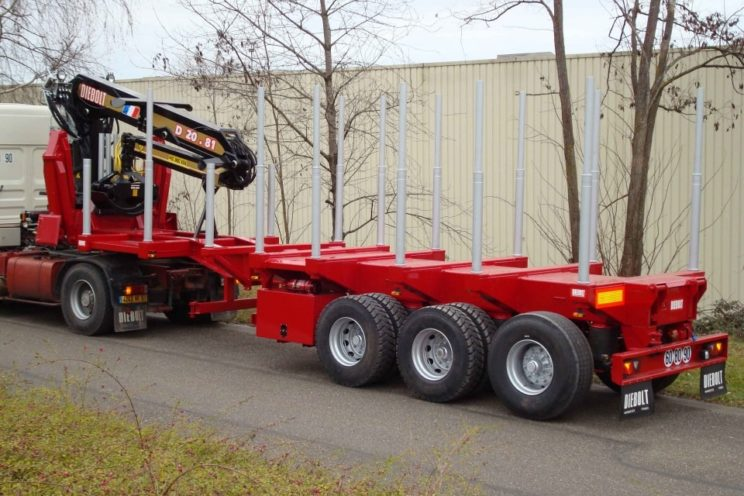 20 Tm crane for timbers