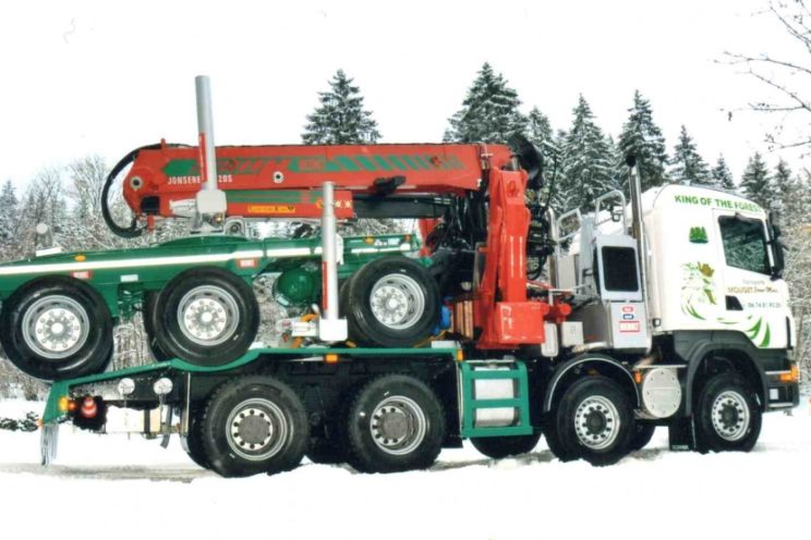 Forestry crane from any brand