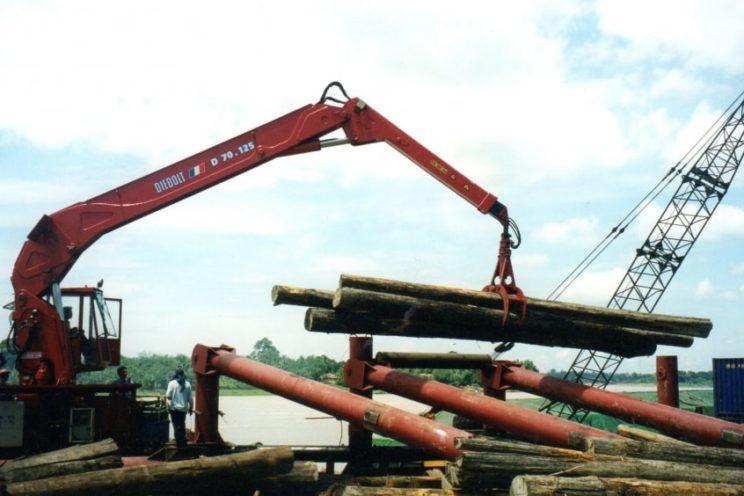 Stationary Diebolt crane