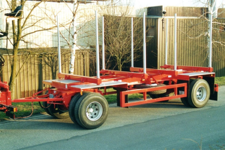 2 axles trailer – outside EU