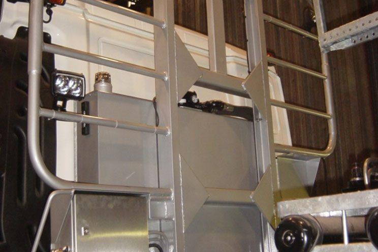 Grille protège cabine